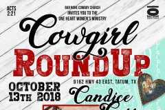 2018 Cowgirl RoundUp